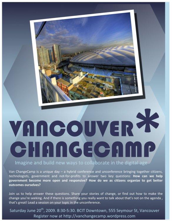 Vancouver ChangeCamp - BC Place