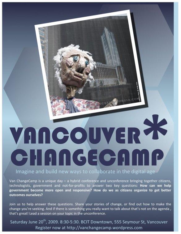 Vancouver ChangeCamp - Hotel Georgia